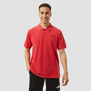THE NORTH FACE PIQUET OUTDOORPOLO ROOD HEREN