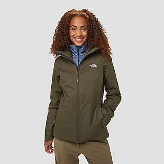 The North Face Quest Insulated women's winter jacket Dames bruin