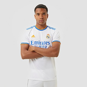 ADIDAS REAL MADRID THUISSHIRT 21/22 WIT/PAARS HEREN