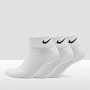 9286666e925 NIKE VALUE COTTON QUARTER SOKKEN 3-PACK WIT