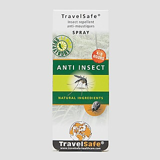TRAVELSAFE NATURAL ANTI INSECT ZWART
