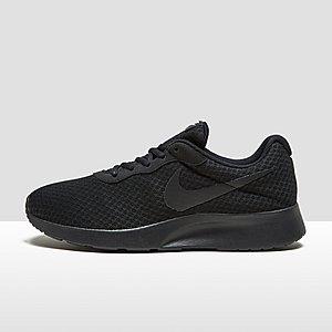 nike sneakers dames zwart leer