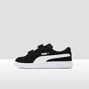 b3fb977825c PUMA SMASH V2 SNEAKERS ZWART/WIT BABY