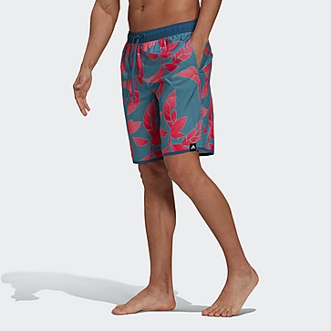 ADIDAS CLASSIC LENGTH GRAPHIC BOARDSHORT PAARS HEREN