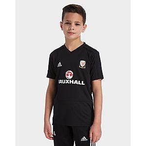 2fe71370 adidas FA Wales 2018/19 Training Shirt Junior ...