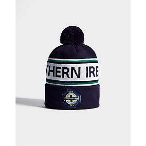 492c9218971 ... Official Team Northern Ireland Text Knitted Bobble Hat