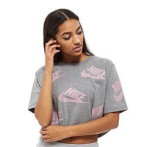 cd0aa4e71 Nike Futura All-Over-Print Crop Top ...