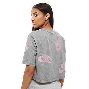 cebde2fec ... Nike Futura All-Over-Print Crop Top