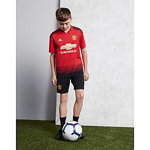 9b8e285db ... adidas Manchester United FC 2018 19 Home Shirt Junior