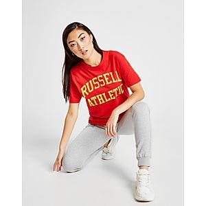e38a4c27 ... Russell Athletic Arch Logo Boyfriend T-Shirt
