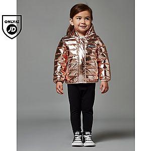621fe366dde51 ... Ellesse Girls  Violet Foil Jacket Infant
