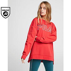 647f00b3c50 Fila Logo Popper Crew Sweatshirt ...