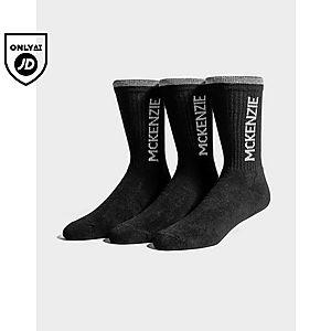 da73c1cd McKenzie 3 Pack Sports Socks Junior ...