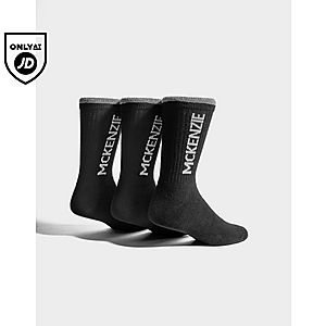 bc59c38f McKenzie 3 Pack Sports Socks Junior McKenzie 3 Pack Sports Socks Junior