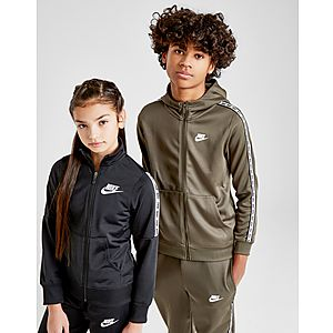 a56db7c41f4 ... Nike Girls' Poly Tape Tracksuit Junior