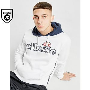 3ccd08c8 Ellesse Idicino Logo Embroidered Overhead Hoodie ...