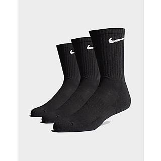 Nike 3 Pack Everyday Cushioned Crew Socks