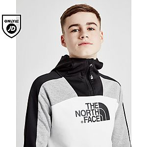 e6497f186 The North Face 1 2 Zip Fabmix Hoodie Junior ...