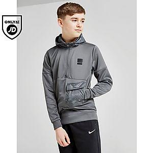 3d6b6bcea Nike Air Max Poly 1 2 Zip Hoodie Junior ...