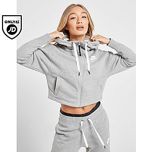 cheap for discount 6f315 a37ac Nike Air Crop Full Zip Hoodie ...