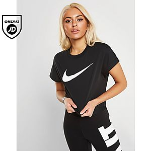 fc6bf168 Nike Sportswear Swoosh Short-Sleeve Crop Top ...