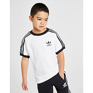 Details about Adidas Originals Infant Trefoil T Shirt Shorts Set Unisex Baby Kids Red White