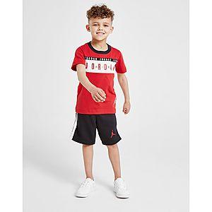 super popular f710f bf1ad Jordan Air T-Shirt Shorts Sert Children ...