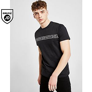 82f79e955 Emporio Armani EA7 Central Tape T-Shirt ...