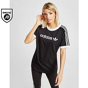 1f0fd100 adidas Originals 3-Stripes Linear T-Shirt ...