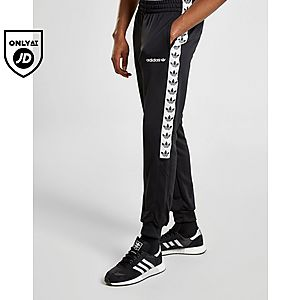 6cc28aa7b45 adidas Originals Tape Poly Track Pants adidas Originals Tape Poly Track  Pants