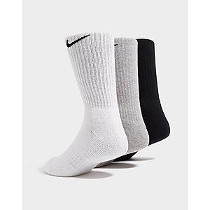cc71af87e Nike 3 Pack Cushioned Crew Socks Nike 3 Pack Cushioned Crew Socks