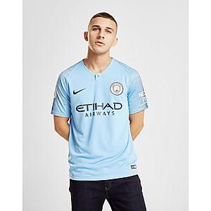 fe6ab703 ... Nike Manchester City FC 2018/19 Silva #21 Home Shirt
