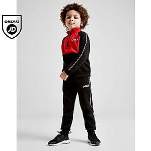 9b1ca909b7d70b Fila Argento 1/4 Zip Tracksuit Children ...