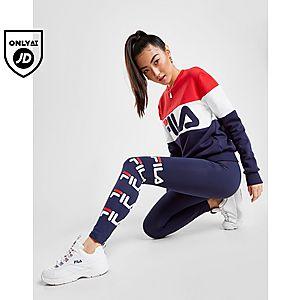 f96b6f5ce048f Fila Panel Logo Crew Sweatshirt ...