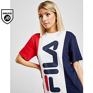 055eec18ec4a Fila Panel Boyfriend T-Shirt ...
