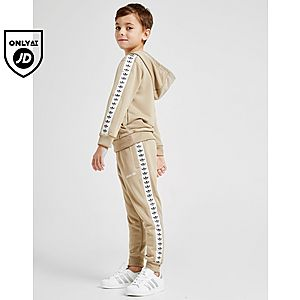 6e034e600 adidas Originals Tape Poly Overhead Tracksuit Children ...