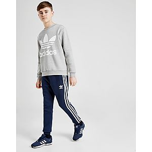 e9158048 ... adidas Originals 3-Stripes Fleece Joggers Junior