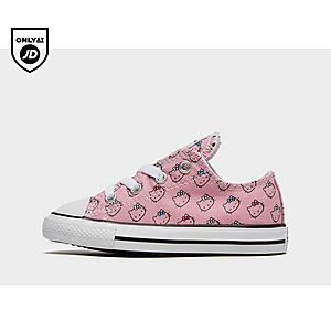 huge discount 7c07c c1906 CONVERSE x Hello Kitty All Star Low Infant ...