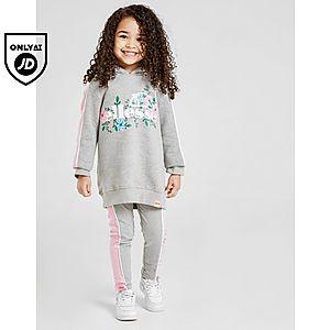 5c6b46a1 Ellesse Girls' Caro Hoodie/Leggings Set Children ...