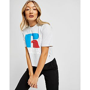53c98053 Russell Athletic Eagle Logo Crop T-Shirt ...