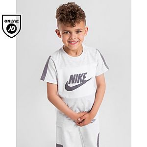 7eb722640e Nike Colour Block Logo T-Shirt Children