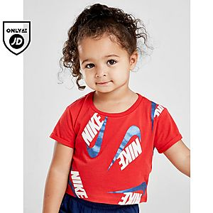 daee2f3788c ... Nike Girls' Shine Print T-Shirt/Shorts Set Infant