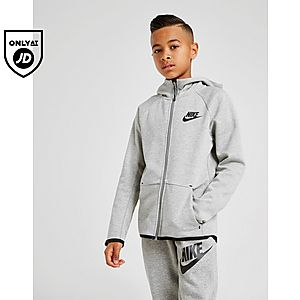 08fa6b4c8 Nike Sportswear Tech Fleece Full Zip Hoodie Junior ...