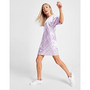 d4a770e3eb0 ... adidas Originals All Over Print Satin T-Shirt Dress Quick ...