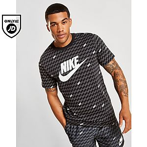 35a82af2 Nike Hybrid All Over Print T-Shirt ...