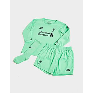 6596841da New Balance Liverpool FC 2019 20 Goalkeeper Away Kit Children ...