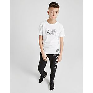 lowest price 31b34 3ce5f ... Jordan x Paris Saint Germain Jock Tag T-Shirt Junior