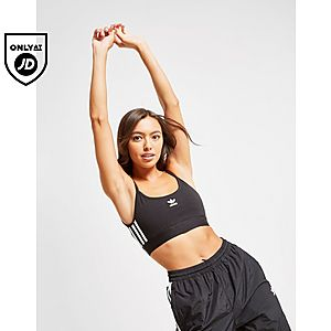 7c556b47 adidas Originals 3 Stripe Sports Bra ...