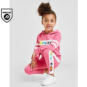 0a627c02 Ellesse Girls' Aglio Hooded Suit Children ...