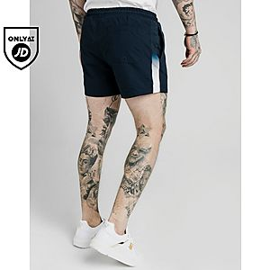 eb296f9beb SikSilk Fade Panel Swim Shorts SikSilk Fade Panel Swim Shorts